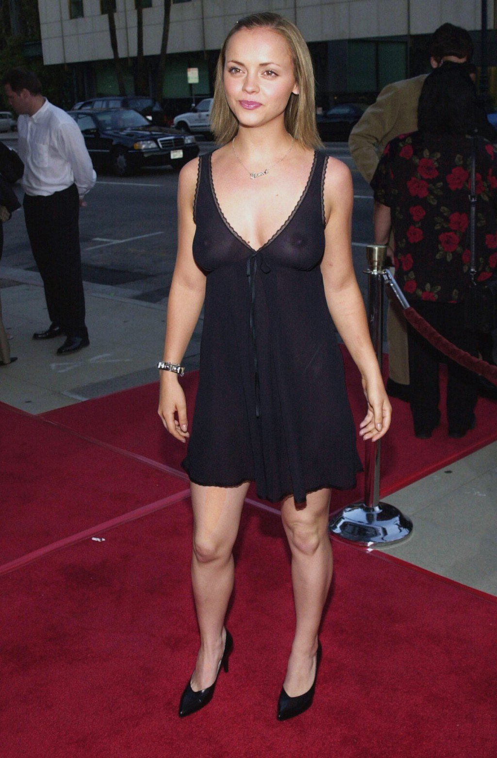 Warning: Girls With Po... Christina Ricci Tight